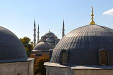 Free The Blue Mosque Royalty Free Stock Image - 6793206