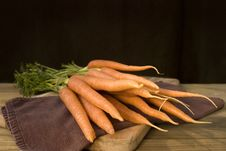 Free Bunch Of Fresh Carrots Stock Image - 6794461