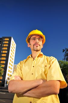 Free Young Architect Royalty Free Stock Photography - 6794637