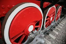 Free Locomotive Wheels Close-up Royalty Free Stock Photos - 6794748