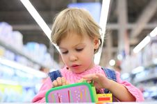 Free Portrait Of Child In Shop Stock Image - 6794821