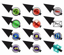 Free Button Arrow Stock Photos - 6795433