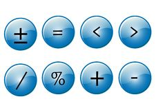Free Mathematical Symbols Royalty Free Stock Photos - 6795448