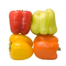 Free Sweet Pepper Isolated On White Royalty Free Stock Photos - 6795548