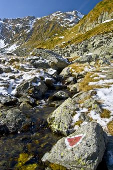 Early Winter In Carpathian Mountains Stock Photo