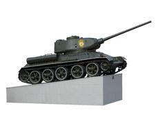 Free T-34 Royalty Free Stock Photo - 6795925