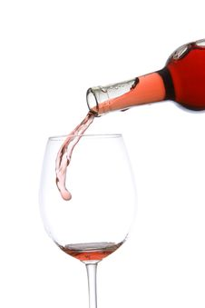 Free Pouring Wine Royalty Free Stock Images - 6795959