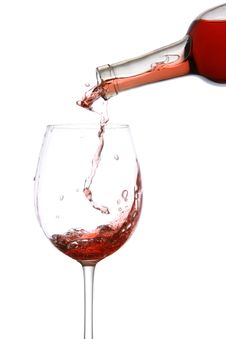 Free Pouring Wine Royalty Free Stock Photography - 6795967