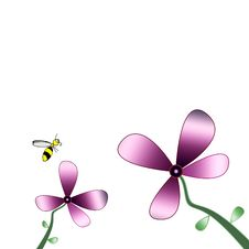 Free Flower Bee Stock Photos - 6795993