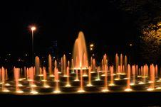 Free Illuminated Fountain Royalty Free Stock Photo - 6796445