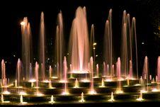 Free Illuminated Fountain Royalty Free Stock Photos - 6796528
