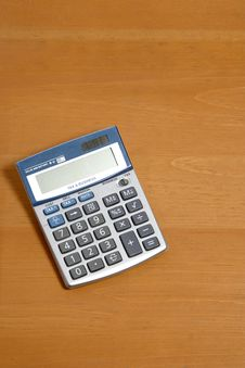 Free Calculator On Desk Royalty Free Stock Photo - 6796925