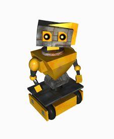 Free Sad Robot Royalty Free Stock Photos - 6797188