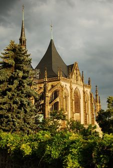 Czech Rep. Kutna Hora-UNESCO Royalty Free Stock Images