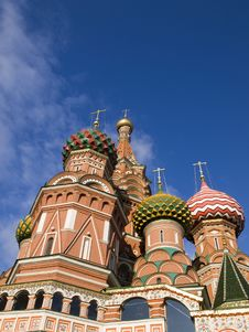 Free Saint Basils Cathedral Moscow Royalty Free Stock Image - 6797606