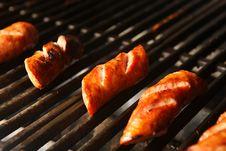 Free Grilled Sausage Stock Image - 6797611