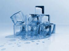 Free Melting Ice Cubes Stock Image - 6798221