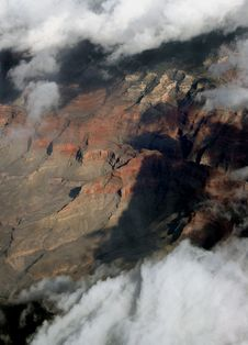 Free 20K Ft Over Arizona 3 Royalty Free Stock Photography - 6798307
