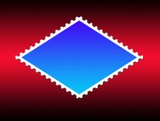 Free Parallelogram Shape Stamp Frame Stock Photo - 6798380