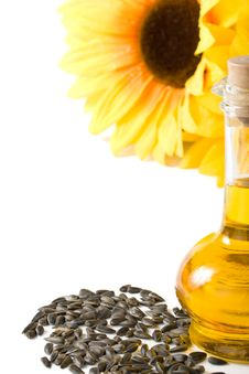 Free Sunflower And Vegetable Oil Stock Image - 6798571