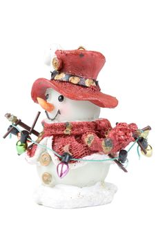 Free Decorative Figure Of A Snowman Royalty Free Stock Image - 6798596