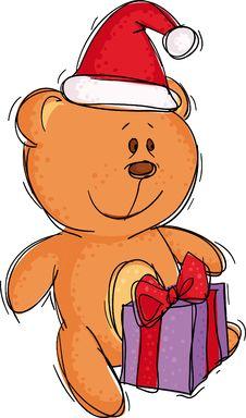 Free Christmas Bear Stock Image - 6798631