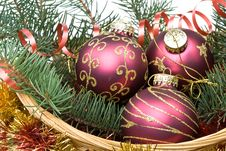 Free New Year S And Christmas Decoration Royalty Free Stock Image - 6798826