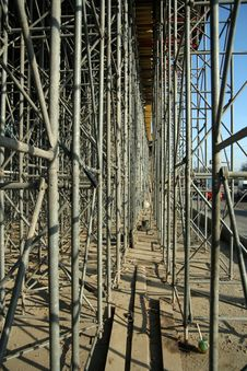 Free Inside Scaffold Stock Photography - 6799432