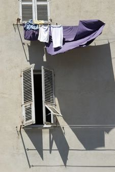 Free Hang Up The Washing Stock Photo - 6799480
