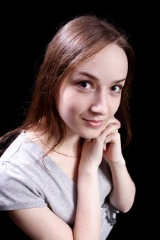Free Modest Girl Stock Photography - 6799822