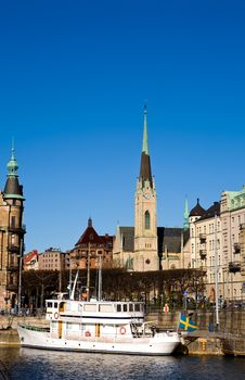 Free Classical View Of Stockholm Stock Photography - 6799882