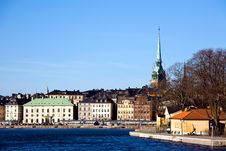 Free Classical View Of Stockholm Stock Photos - 6799883