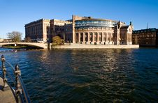 Free Classical View Of Stockholm Royalty Free Stock Photos - 6799888
