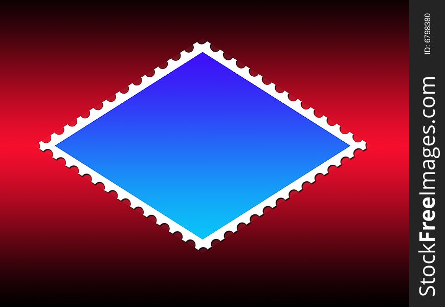 Parallelogram Shape Stamp Frame - Free Stock Images & Photos