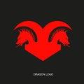 Free Red Dragon Logo Stock Images - 67934404