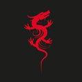 Free Red Dragon Logo Stock Photos - 67934413