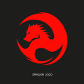 Free Red Dragon Logo Royalty Free Stock Photo - 67934415