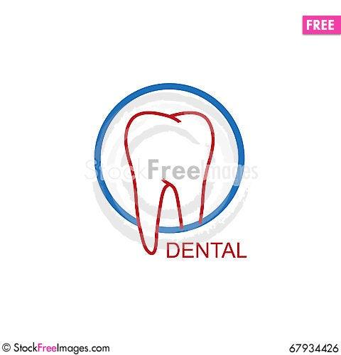 Free Dental Logo Royalty Free Stock Image - 67934426