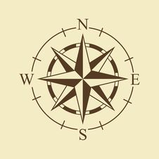 Free Wind Rose Royalty Free Stock Photography - 67935157