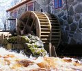 Free Watermill Fragment Stock Images - 686934