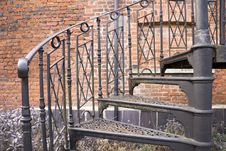Free Decorative Spirel Staircase, Stock Photos - 680233