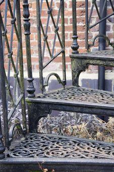 Free Sprel Staircase. Stock Photo - 680240
