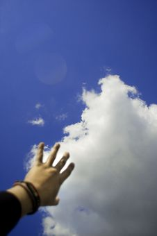 Free Reaching The Clouds Royalty Free Stock Image - 680526