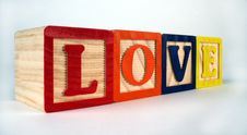 Free Love Blocks Stock Photos - 680753