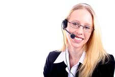 Free Business Woman - Corporate Spoksewoman Stock Photography - 681162