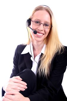 Free Business Woman - Corporate Spoksewoman Stock Photos - 681163