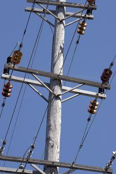 Free Utility Pole Stock Image - 681201