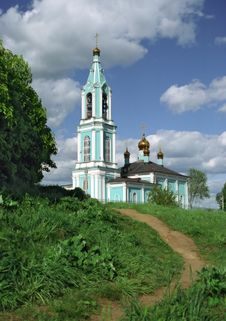 Free Church In Krylatskoe Royalty Free Stock Images - 681949