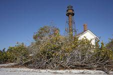 Sanibel Island Lighthouse Royalty Free Stock Images