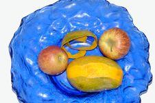 Free Mango & Apples Stock Photo - 682160
